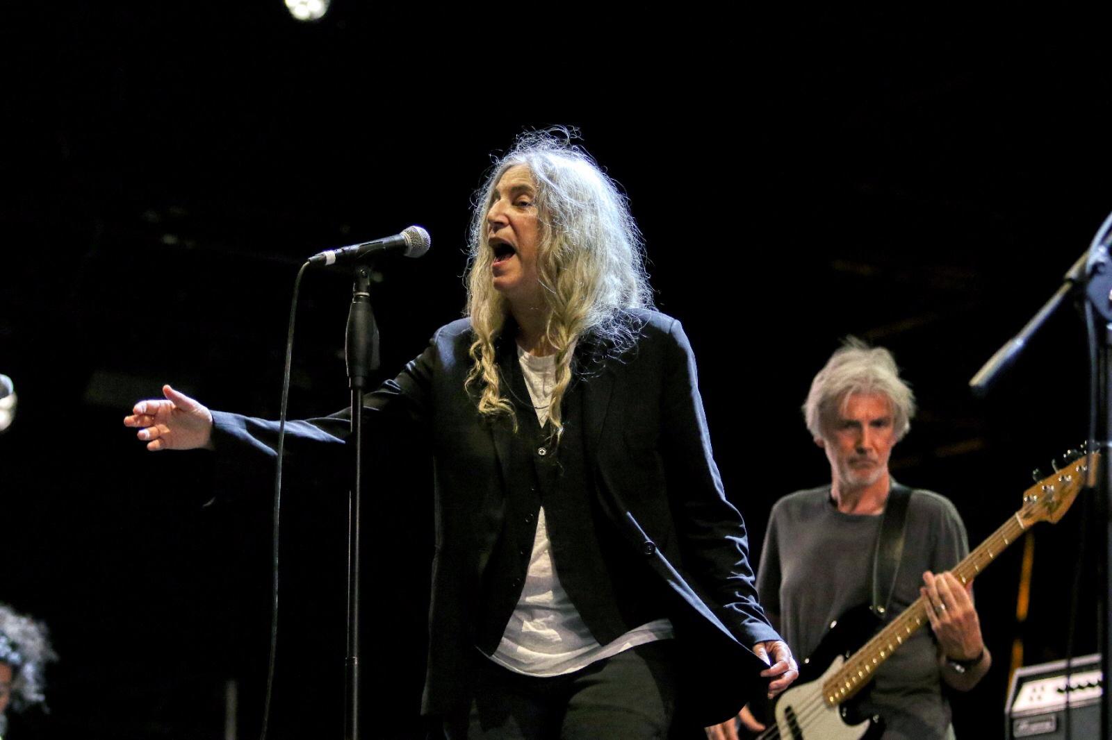 Patti Smith, la poesia sotto la Croce del Sud